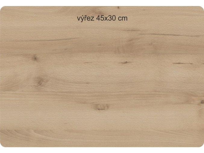 """Obrazové LED svítidlo 31x38cm """"Romance"""" dřevo žlutá"""