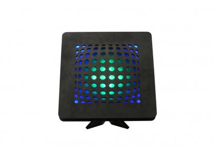 illusion 22 čer 1 mod+zel stolní LED lampa 31x31cm